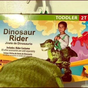 Other - Dinosaur Rider Costume 2T